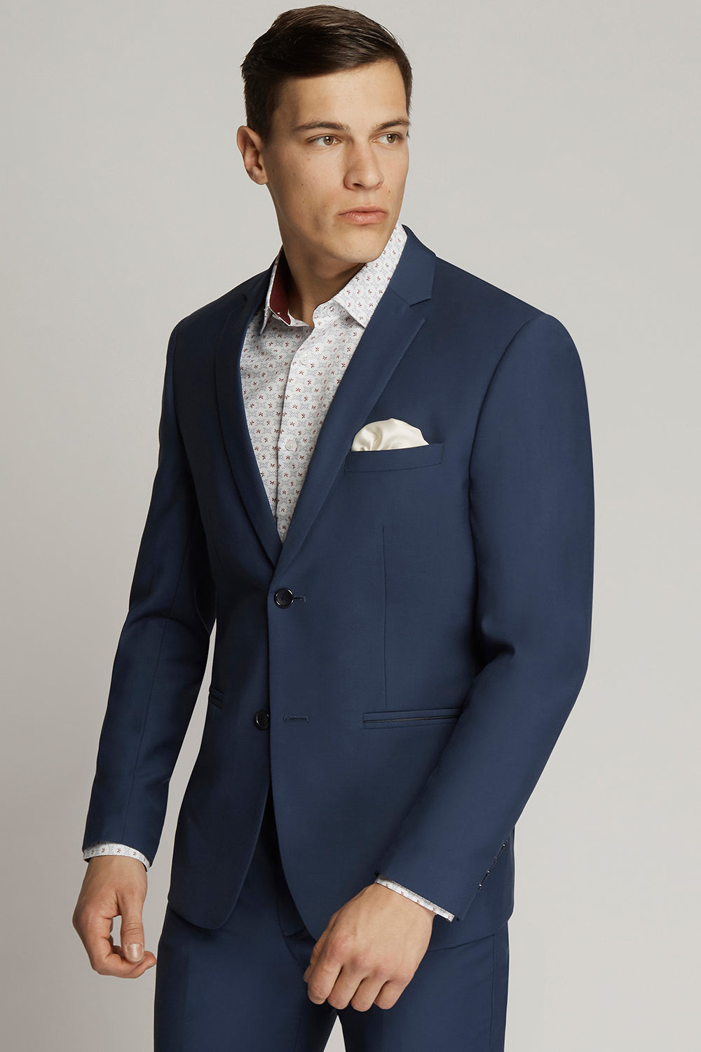 French Blue Suit Hire