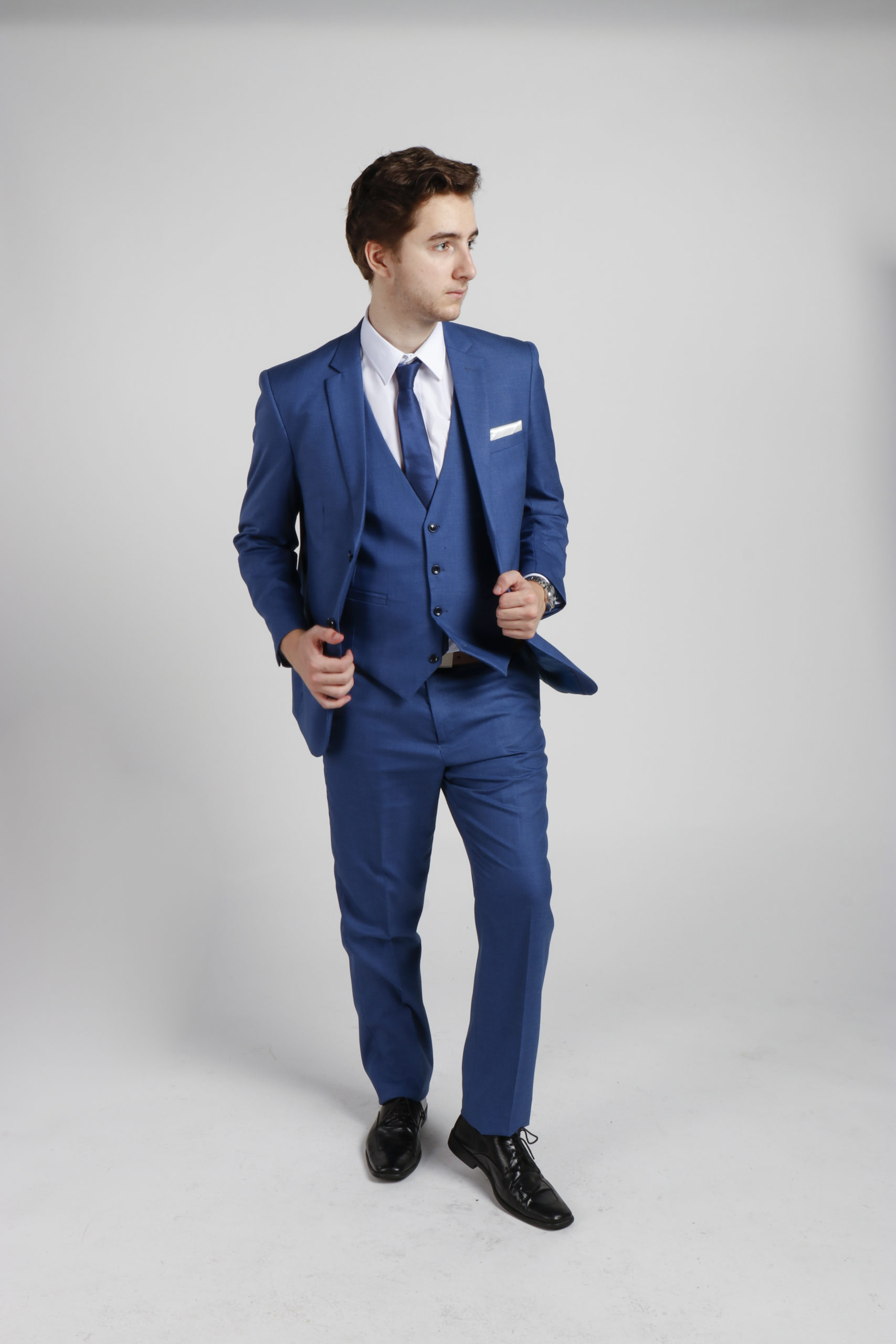 Royal Blue Suit