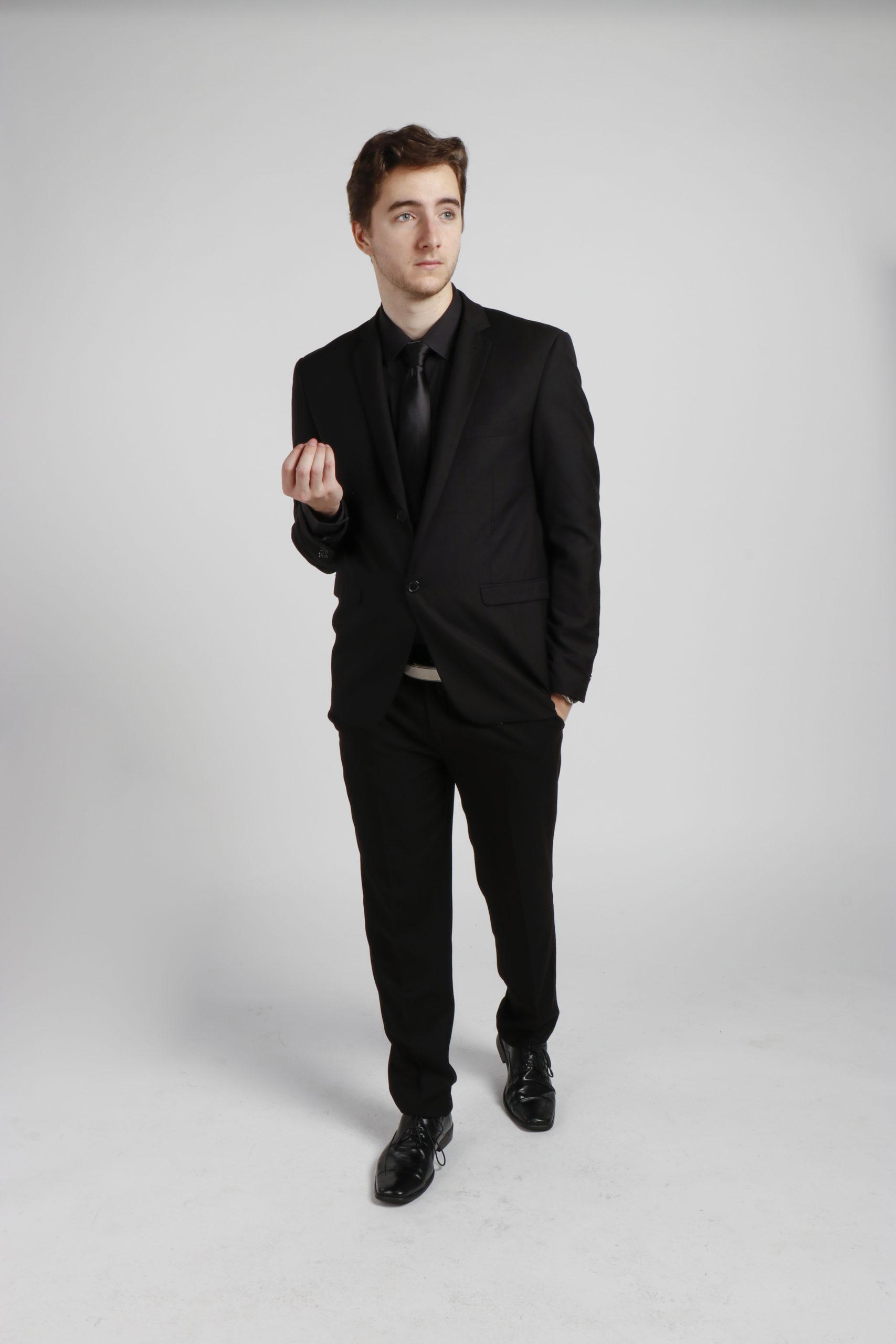 All Black Suit