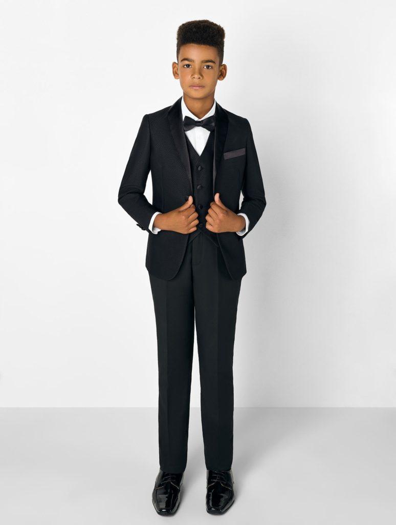 Kids Black Tuxedo